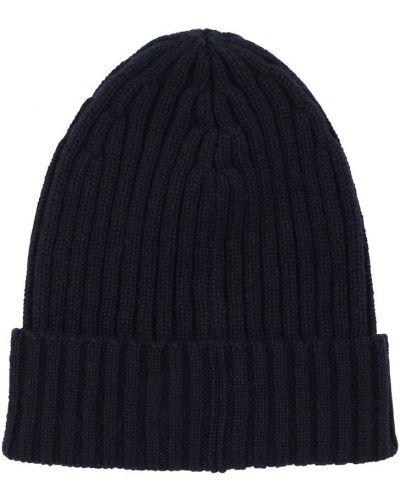 Z kaszmiru prążkowany czapka beanie Piacenza Cashmere
