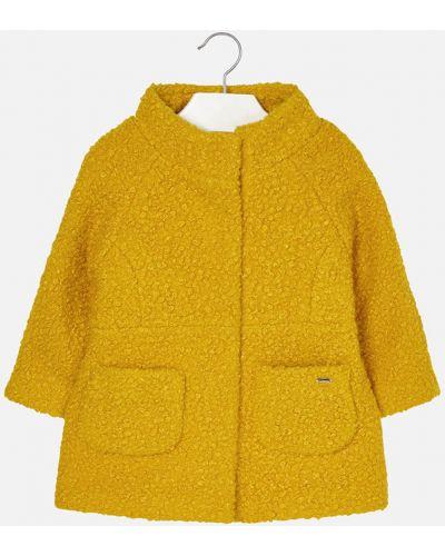 Куртка желтый шерстяная Mayoral