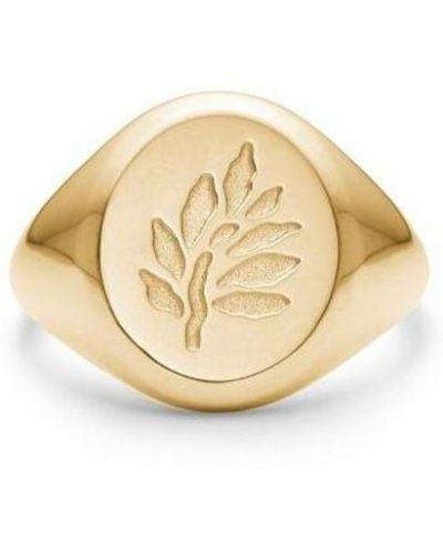 Żółty pierścionek Julie Sandlau