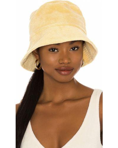 Żółty kapelusz wełniany Lack Of Color