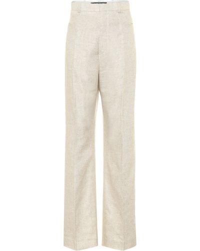 Bielizna beżowy spodnie Jacquemus