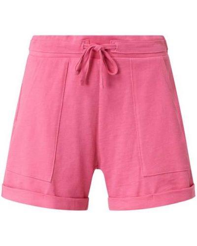 Różowe szorty bawełniane Edc By Esprit