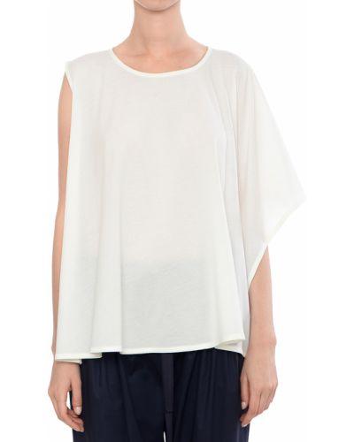Хлопковая блузка - белая Armani Jeans