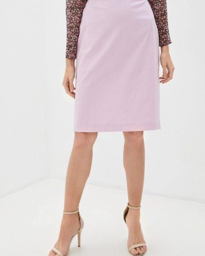 Прямая розовая юбка карандаш Trussardi Collection
