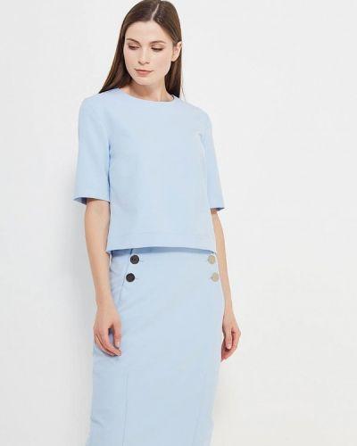 Голубой юбочный костюм Villagi