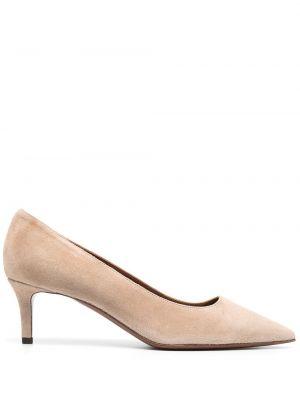 Кожаные туфли-лодочки на каблуке без застежки L'autre Chose