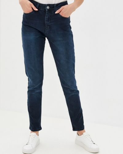 Синие джинсы бойфренды Mossmore