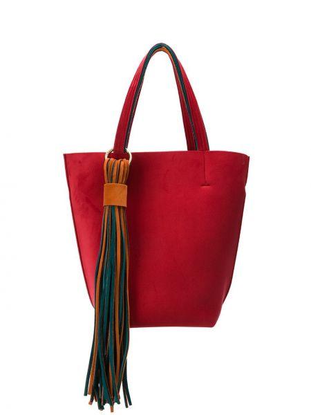 Красная сумка-тоут Alila