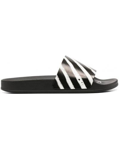 Czarne sandały Off-white