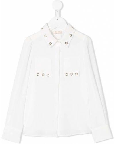 Рубашка на пуговицах Elisabetta Franchi La Mia Bambina