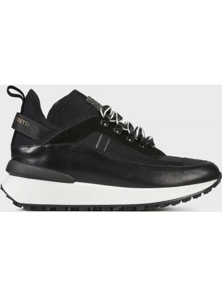 Кожаные кроссовки - черные Helena Soretti
