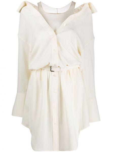 Платье на пуговицах платье-рубашка Alexander Wang