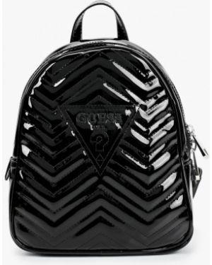 Рюкзак лаковый черный Guess