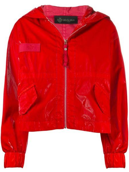 Куртка с капюшоном - красная Mr & Mrs Italy