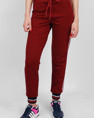Спортивные брюки бордовый красный Sab