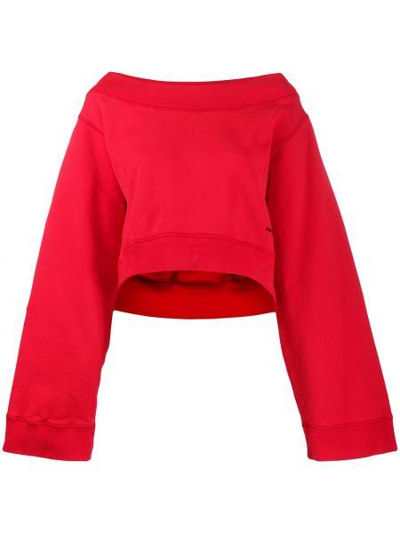 Красный свитер оверсайз Dsquared2