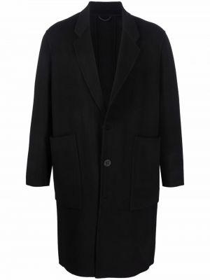Czarny płaszcz wełniany Etudes