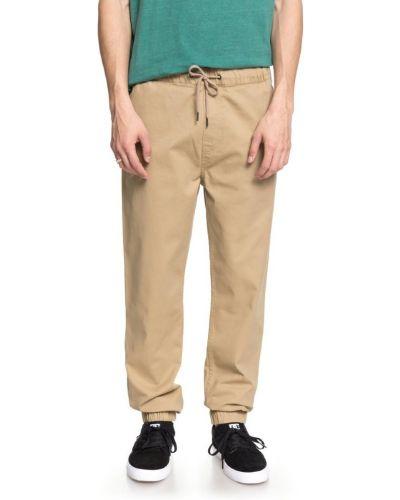 Коричневые брюки на резинке Dc Shoes