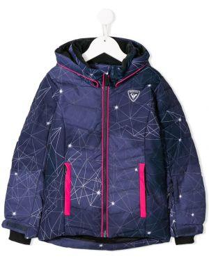 Пуховая фиолетовая куртка Rossignol Kids
