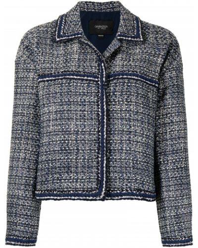 Синяя шерстяная куртка Giambattista Valli