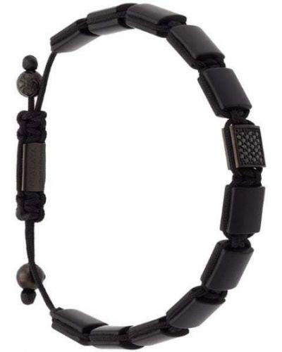 Браслет черный с ониксом Nialaya Jewelry