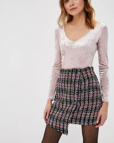 Розовое боди блуза Befree
