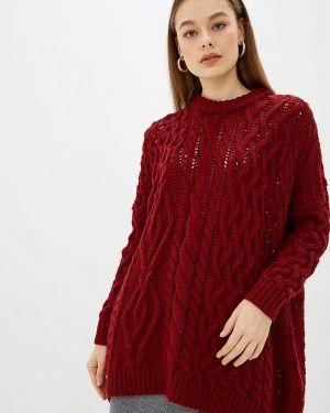 Свитер бордовый красный Knitman