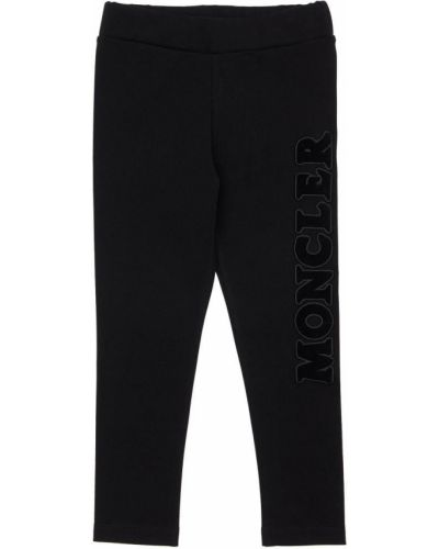 Spodnie na gumce z logo Moncler