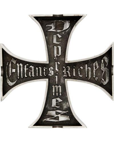 Srebro krzyż metal Enfants Riches Deprimes