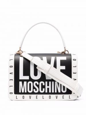 Сумка через плечо - черная Love Moschino