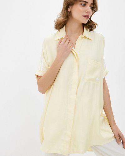 Желтое платье Adidas Originals