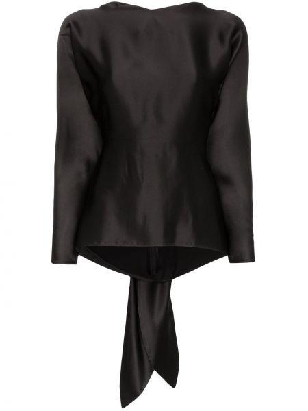 Блузка с длинным рукавом с открытой спиной Deitas