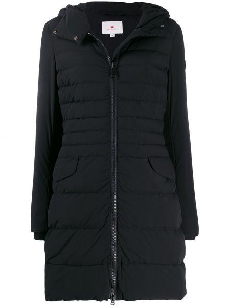Пальто с капюшоном айвори Peuterey