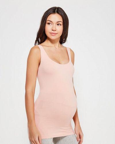 Розовый топ для беременных Mama.licious