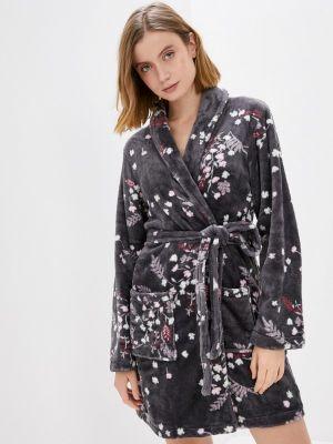Домашний халат - серый Nymos