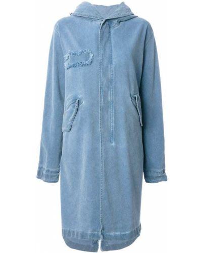 Синяя джинсовая парка Mr & Mrs Italy