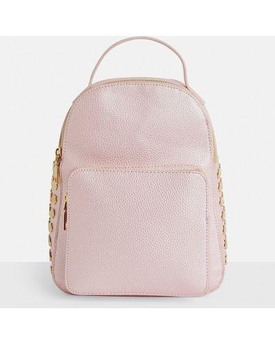 Кожаный рюкзак с отделениями Missguided