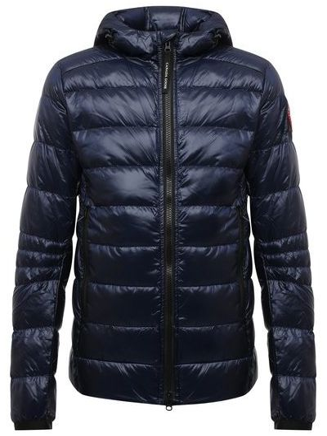 Синяя нейлоновая куртка Canada Goose