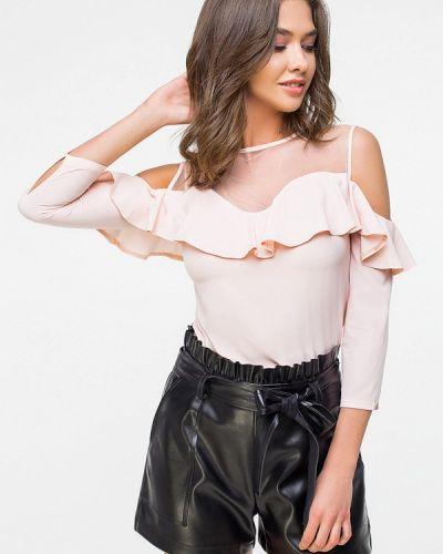 Блузка с длинным рукавом бежевый Itelle