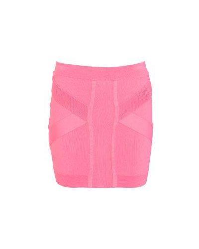 Розовая юбка миди Faith