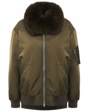 Куртка милитари из кролика Army Yves Salomon