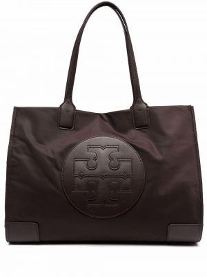 Фиолетовая сумка с логотипом Tory Burch