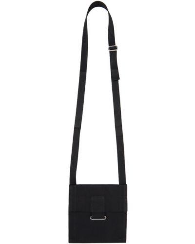 С ремешком серебряная текстильная сумка мессенджер квадратная 132 5. Issey Miyake