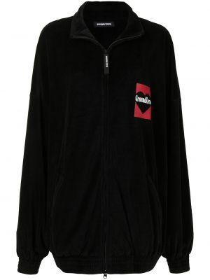 Черная длинная куртка Ground Zero