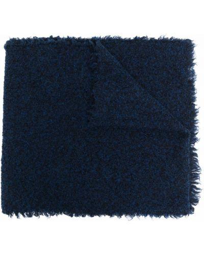 Niebieski szalik wełniany Faliero Sarti