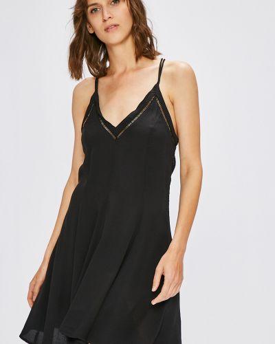 Платье мини с V-образным вырезом на бретелях Review