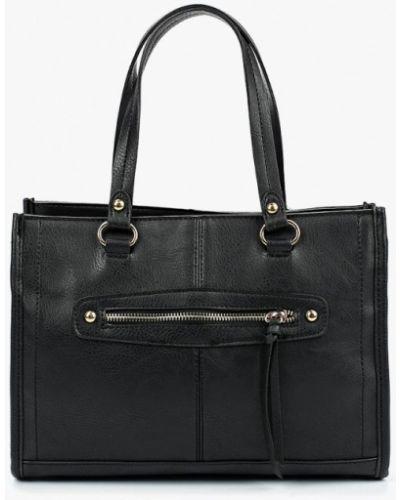 Черная кожаный сумка Dorothy Perkins