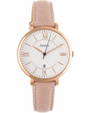 Zegarek różowy Fossil