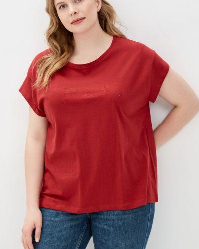 Красная футболка с короткими рукавами Rosa Thea