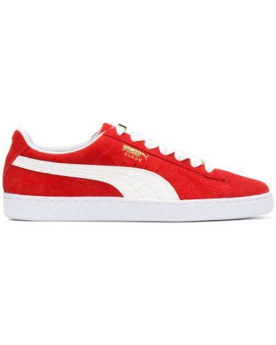 Красные кеды Puma